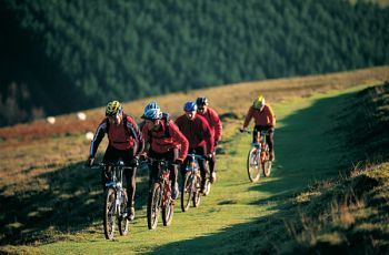 Mountain Bike hire and Mountain Biking in the Brecon Beacons for groups and individuals