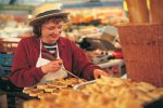 Try welshcakes on a Drover Holidays Cycling and Walking tour of Wales
